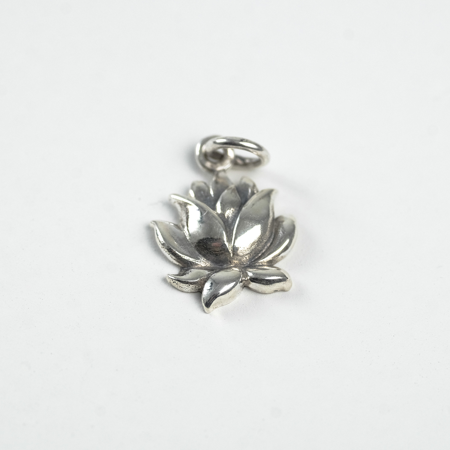 Blooming Flower Charm - Sterling Silver