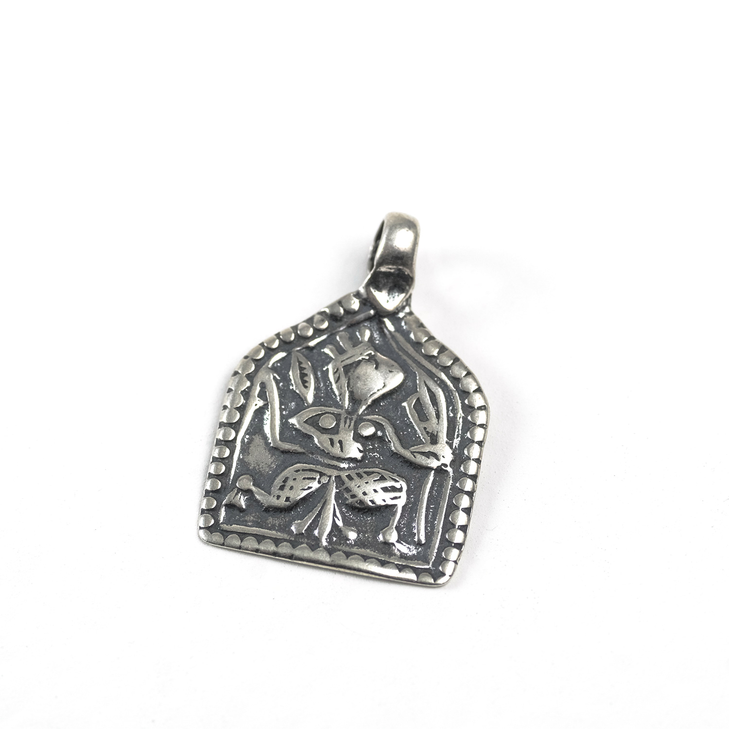 Sterling Silver Goddess in Square