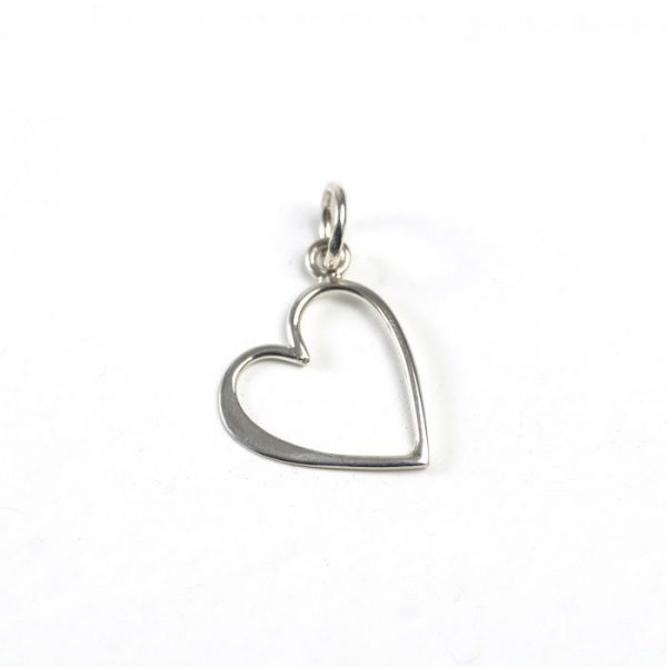 Sterling Silver Heart (Outlined)
