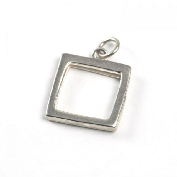 Sterling Silver Square Frame