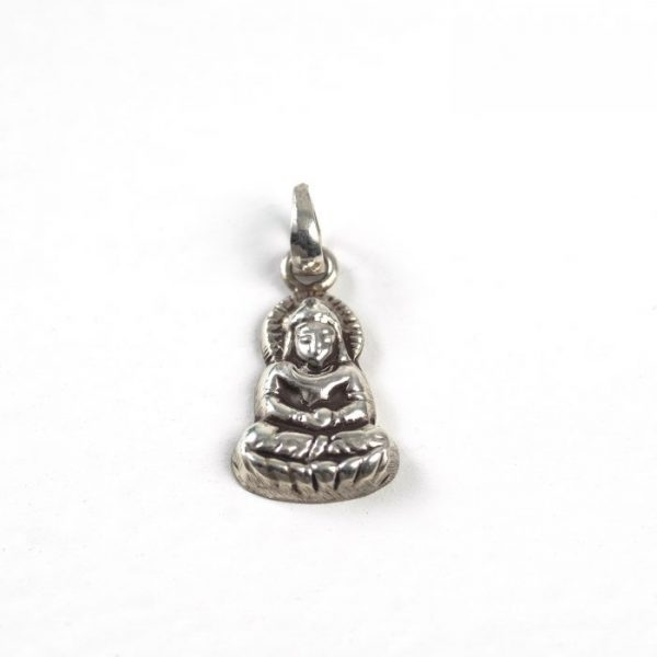 Antiqued Buddha - Sterling Silver #155