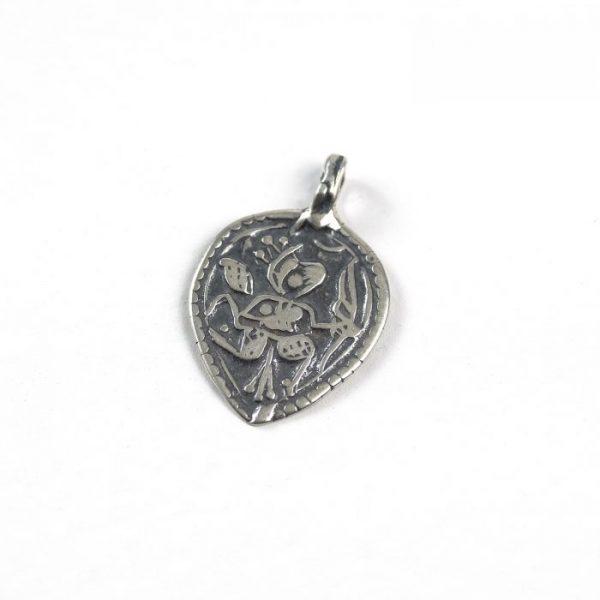 Goddess in Heart - Sterling Silver #156