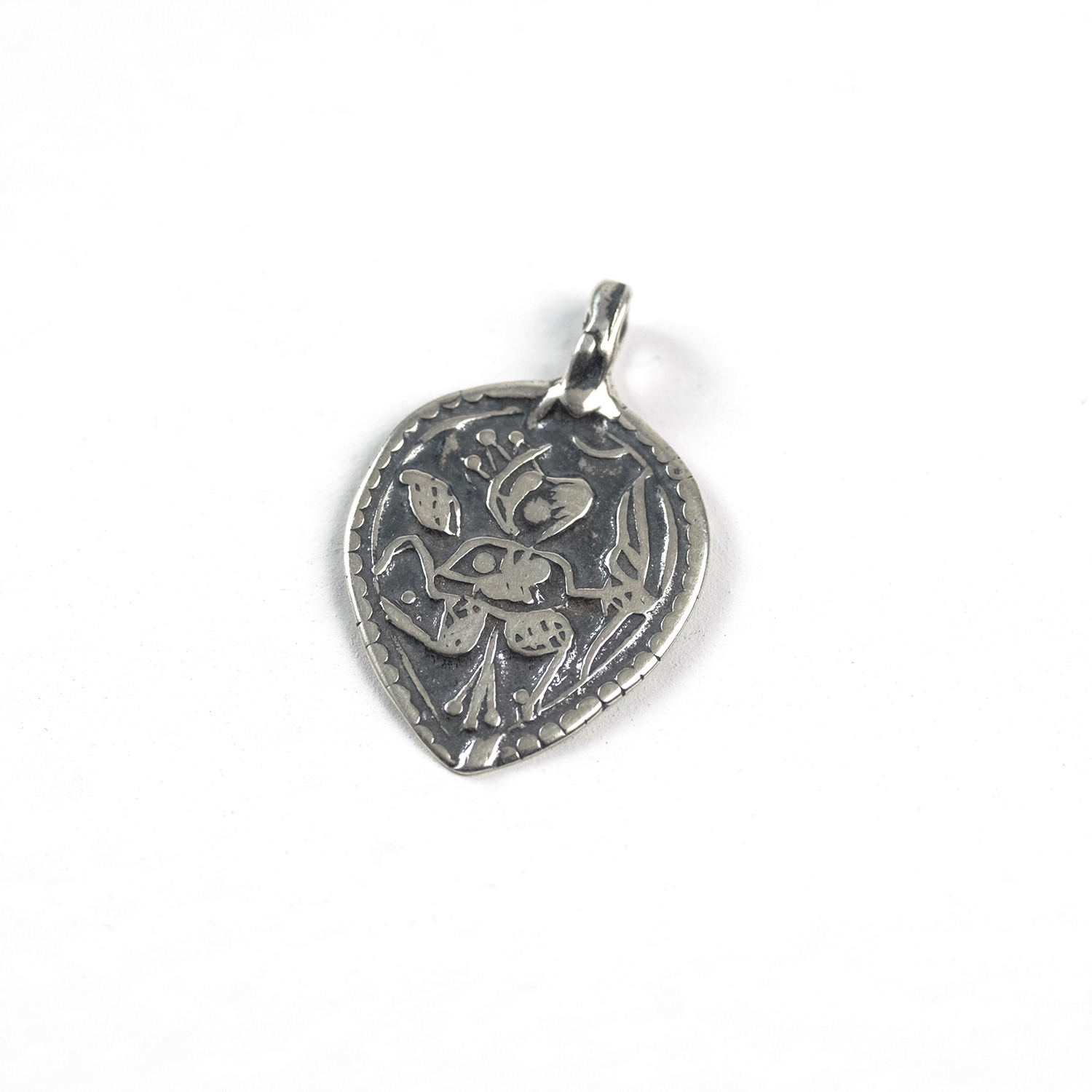 Goddess in Heart - Sterling Silver #156