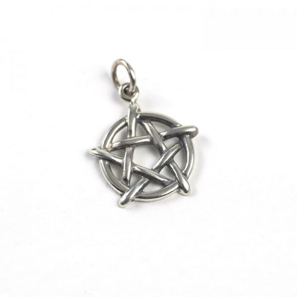 Sterling Silver Pentacle Charm