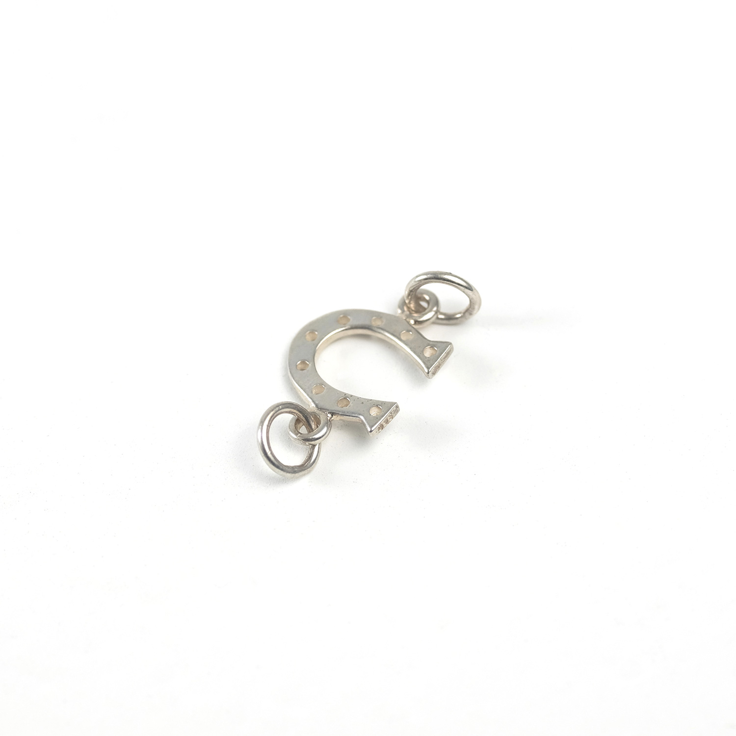 Sterling Silver Horseshoe Link