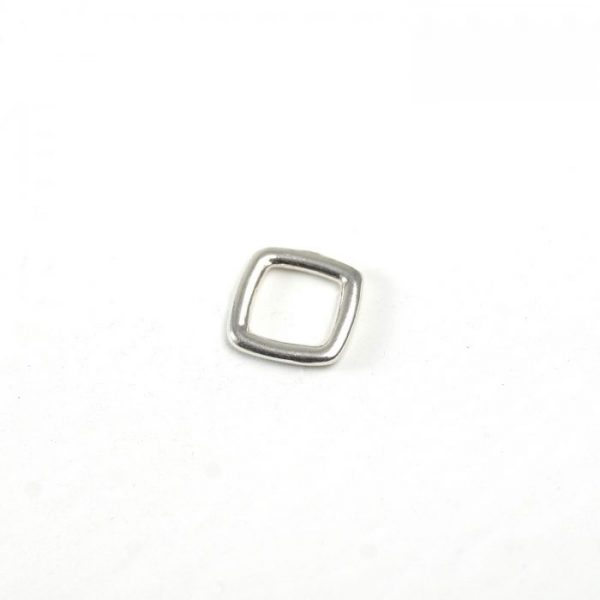 Sterling Silver Square Connector
