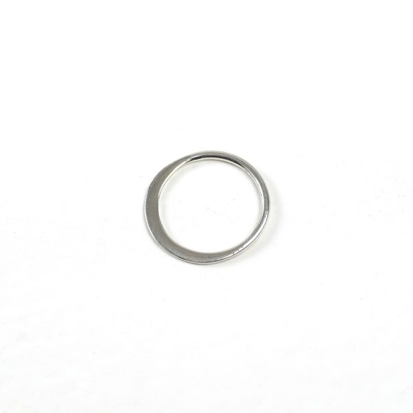 Sterling Silver Circle Connector (Thin)