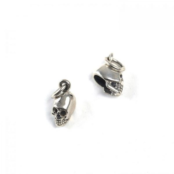 Sterling Silver Tiny Skull Charm