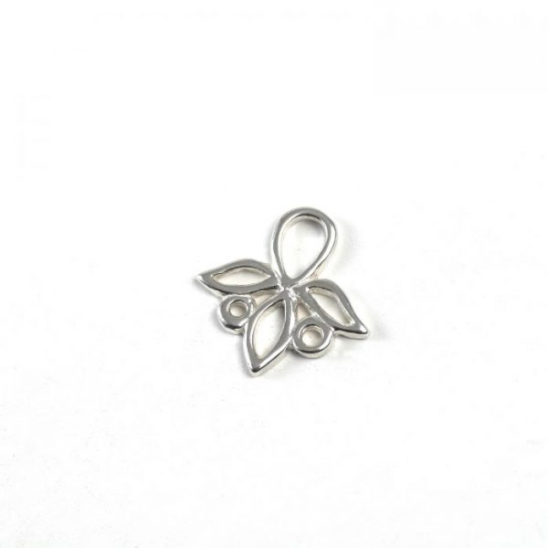 Sterling Silver Flower Connector