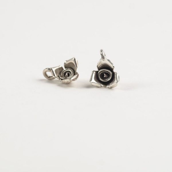 Sterling Silver 3D Rose Cover Image