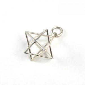 Sterling Silver Star Tetrahedron (Merkaba)