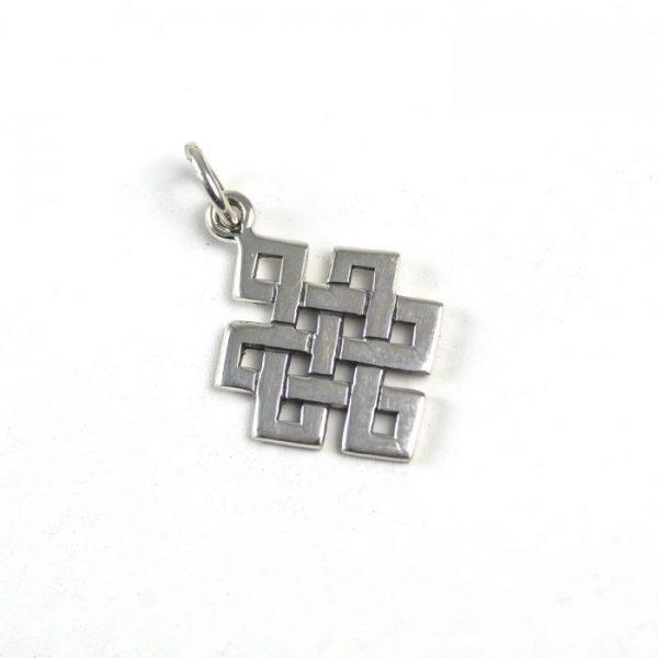Sterling Silver Eternal Knot (Tibetan Endless Knot)