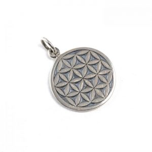 Sterling Silver Flower of Life (Small)