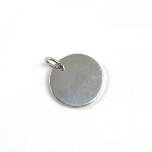 Sterling Silver Thick Tag (Small)