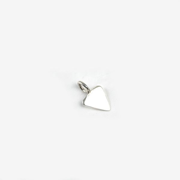 Sterling Silver Tiny Triangle Tag