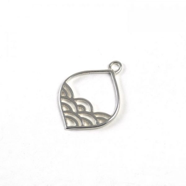 Sterling Silver Arabesque with Waves
