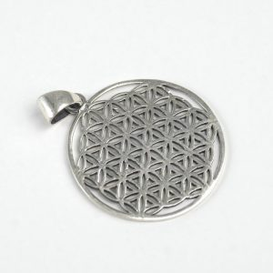 Sterling Silver Flower of Life (Large)