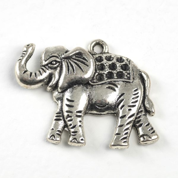 Elephant with Gem Insets