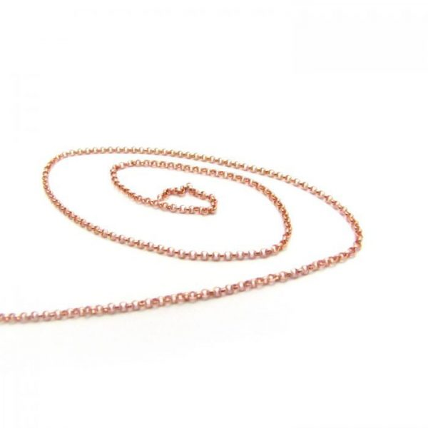 Rolo Chain 10391RF Rose Gold Fill