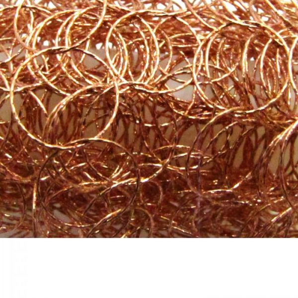 Round Hammered Chain 10475-RS Rose Gold Vermeil