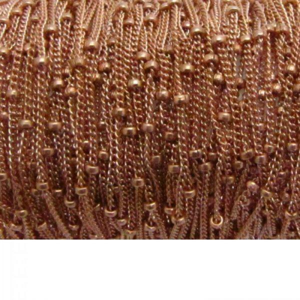 Satellite Chain 11082RF Rose Gold Fill