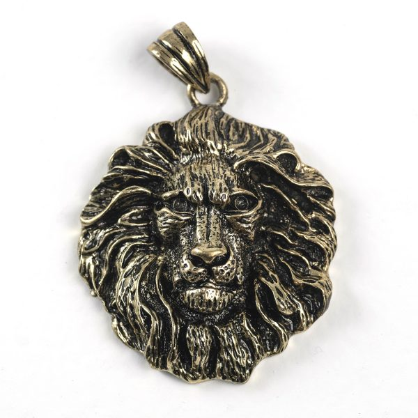 Lion Head (brass)