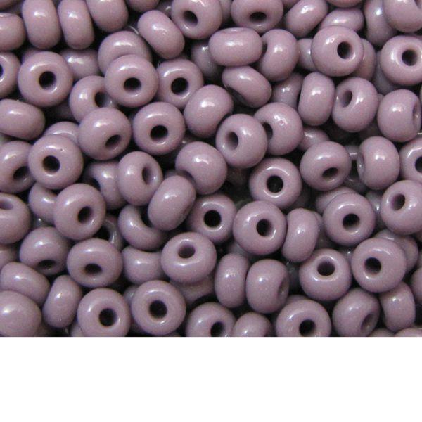 Seed Beads Opaque Mauve