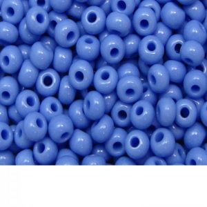 Seed Beads Opaque Powder Blue