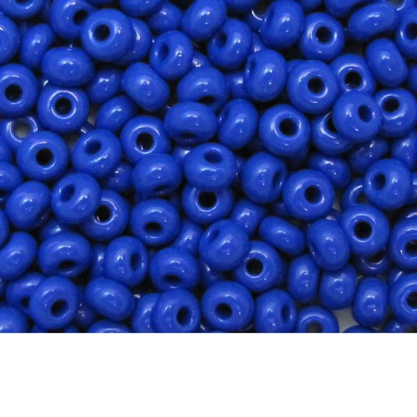 Seed Beads Opaque Royal Blue