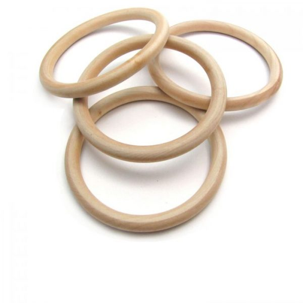 3 inch wooden rings