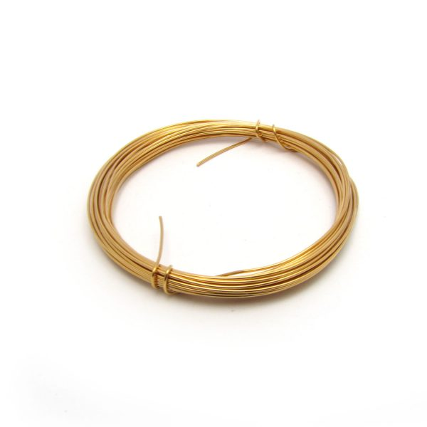 Copper core craft Wire Gold Plated
