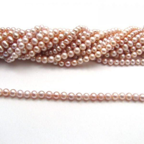 Rose Potato Fresh Water Pearls