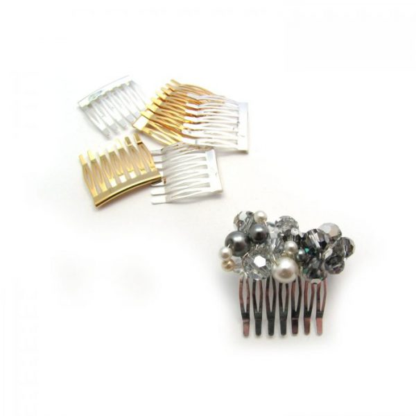 metal hair comb - 7 tooth