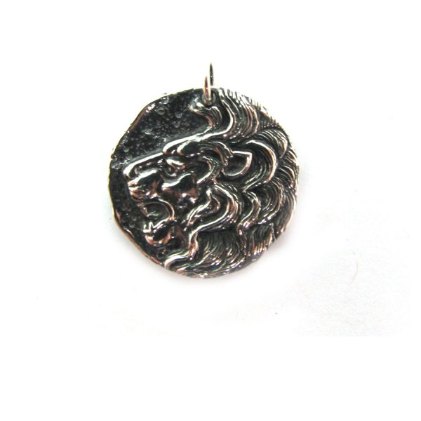 Lion Coin – Sterling Silver