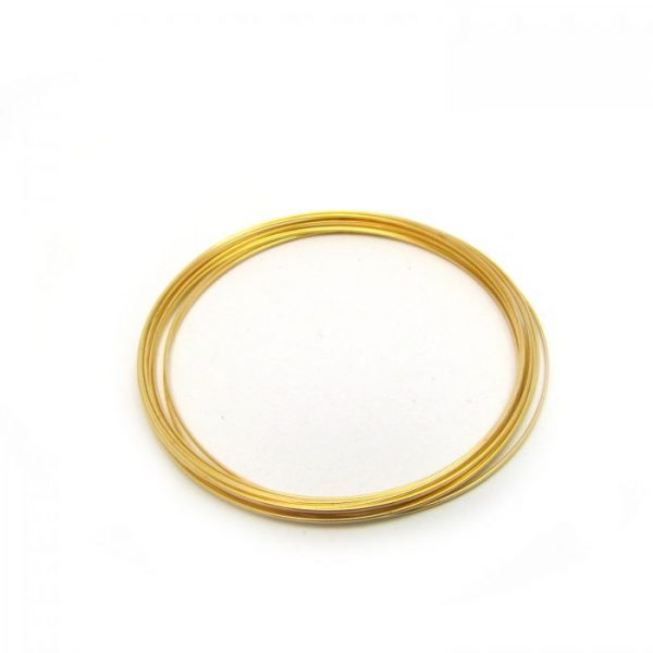 Memory Wire Gold Plated