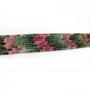 tourmaline 3mm round faceted bundle