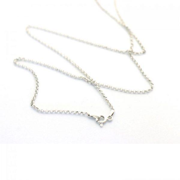 Pre-made S.S Rolo chain #12 chain