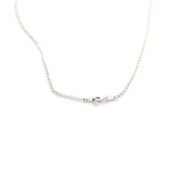 Pre-made S.S Rolo chain #12 clasp