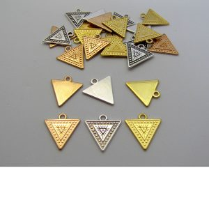 triangle tag zamak base metal group image