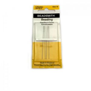 needles size 10 beading bead smith