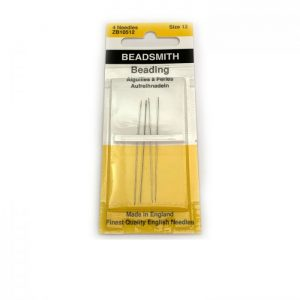needles size 12 beading bead smith