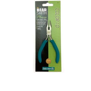 plier chain nose with cutter turquoise handle bead smith
