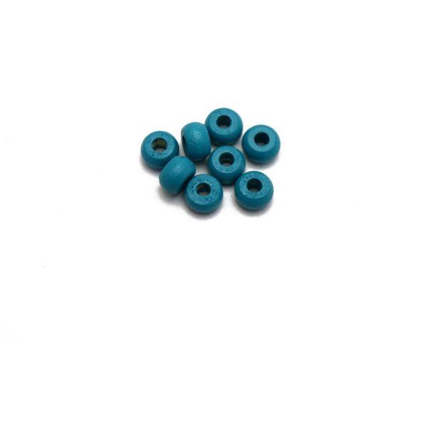 blue crow beads