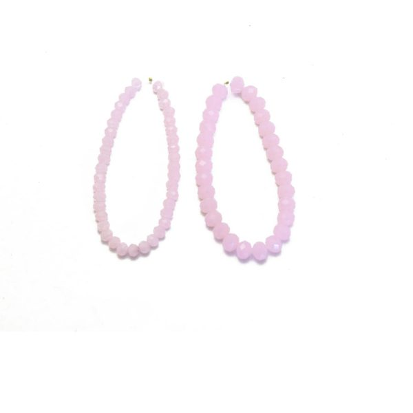 opaque light pink 2 sizes