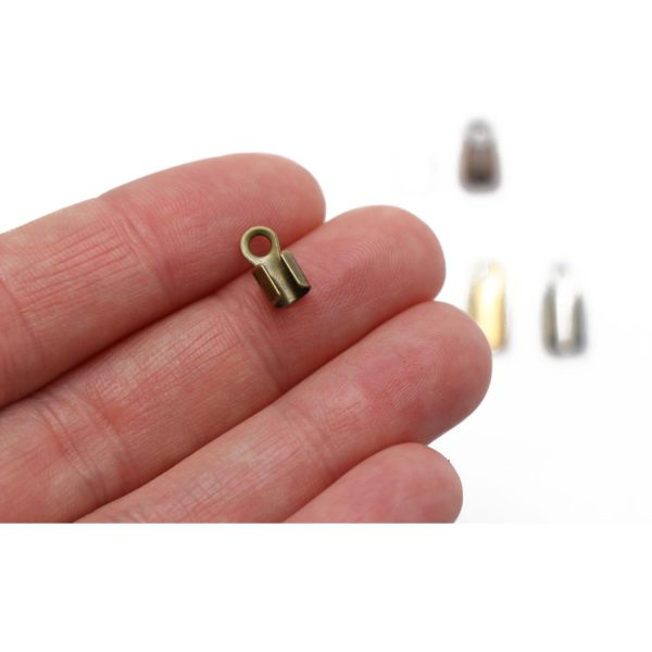 3mm foldovers round showing scale